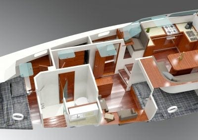 Bestevaer 45ST DS galley in pilot house_002
