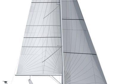 OVNI 400 Sail plan